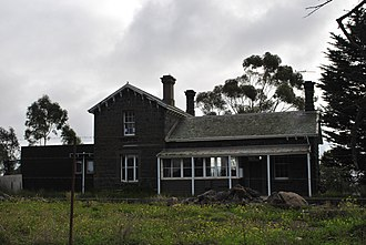 Moorabool, Victoria - The former railway station
