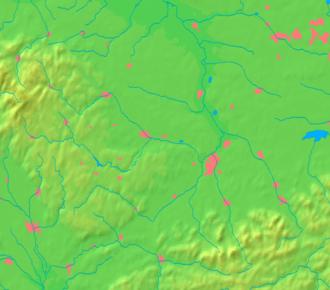 Frenštát pod Radhoštěm - Image: Moravian Silesian Region background map