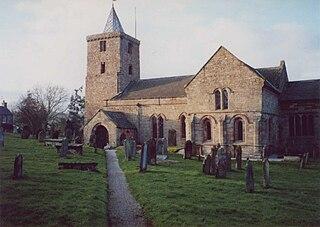 St Laurences Church, Morland Church in Cumbria, England