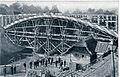 Most čez Dobličanko pri Črnomlju (med zgradbo) 1912.jpg