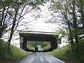 Motorway road bridge. - geograph.org.uk - 1559785.jpg