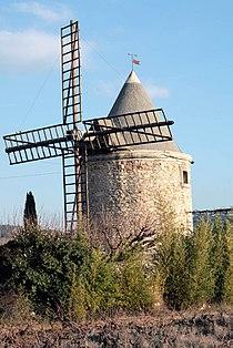 Moulin de la badelle by JM Rosier.JPG