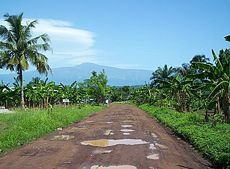 Tiko - Mount Cameroon as seen from Tiko