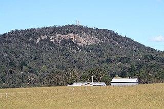 Mount Gibraltar mountain in New South Wales, Australia