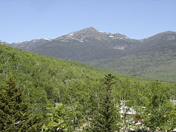 East elevation of Mount Madison, seen from New Hampshire Route 16