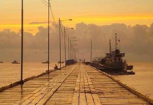 Puerto Cabezas - Pier in Bilwi, Puerto Cabezas