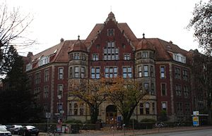 Fachhochschule Münster - The Hüfferstiftung in Münster accommodates the university management, the central administration and the Faculty of Social Studies of Münster University of Applied Sciences.