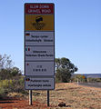 Multi-lingual Road Sign, Kings Canyon.jpg