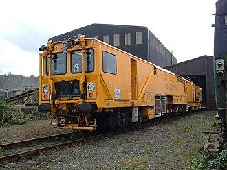 Stoneblower - DR 80301 at Meldon Quarry, Dartmoor Railway