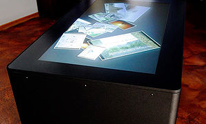 MT-50 Multitouch Table - Image: Multitouch table