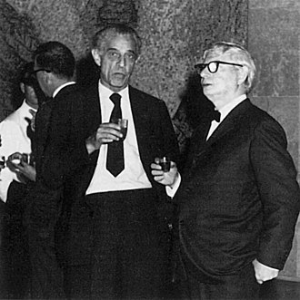 Munio Weinraub - Munio Weinraub and Louis Kahn.