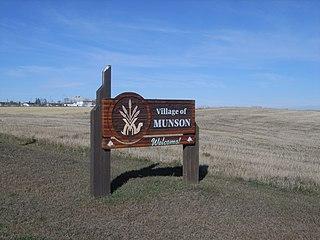 Munson, Alberta Village in Alberta, Canada