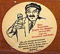Musée Européen de la Bière, Beer coaster pic-048.JPG