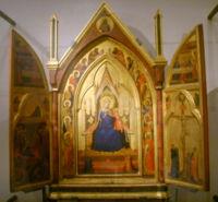 Un trittico di Bernardo Daddi (1333), Museo del Bigallo, Firenze