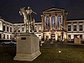 Museum of Fine Arts Boston, Huntington Ave entrance at night.jpg