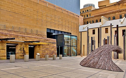 Museum of Sydney entrance