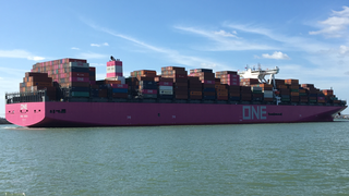 Ocean Network Express Singapore-based Japanese container shipping company