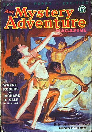 "Richard Sale (director) - Sale's ""Rescued by Satan"" was cover-featured on Mystery Adventure in 1936"