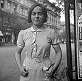 Női portré, 1943 Budapest. Fortepan 14444.jpg