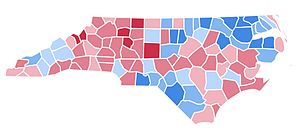 United States presidential election in North Carolina, 1996