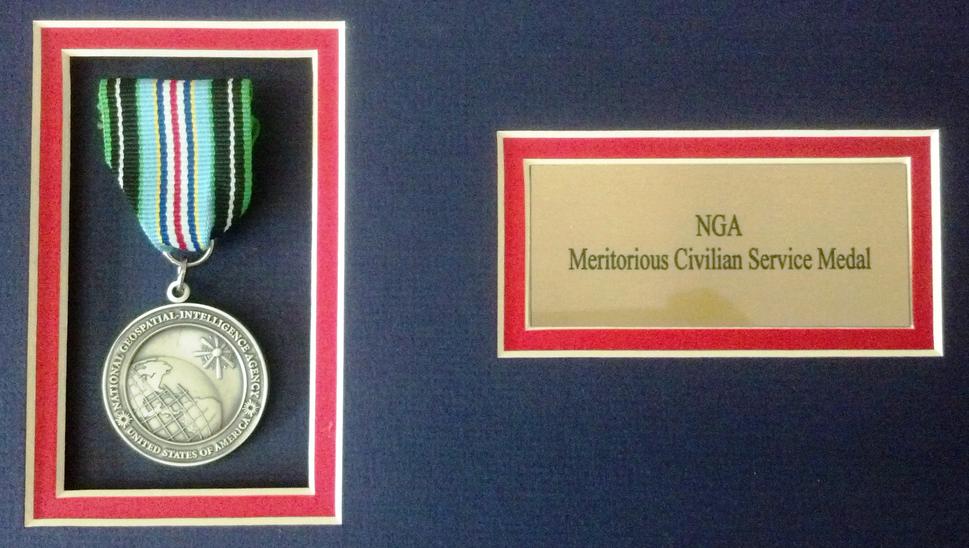 NGA Meritorious Civilian Service Medal