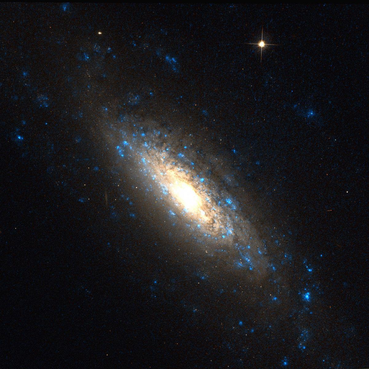 Aufnahme mittels des Hubble-Weltraumteleskops