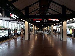 Choa Chu Kang MRT/LRT Station - Choa Chu Kang MRT Platform