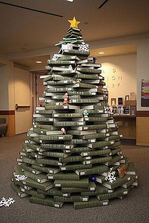 National Union Catalog - National Union Catalog Christmas Tree at the University of San Francisco.