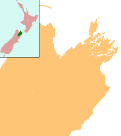 Ward is located in New Zealand Marlborough