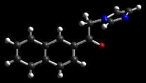 Nafimidone - Image: Nafimidone from xtal 2005 CM 3D balls
