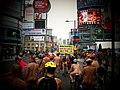 Naked Nike Ride Yonge Dundas Toronto 2010.jpg
