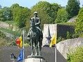 Namur Citadel Albert I monument.JPG