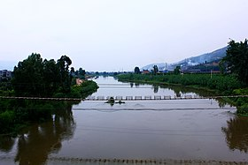 Nanpan River near Yiliang County, Kunming.jpg
