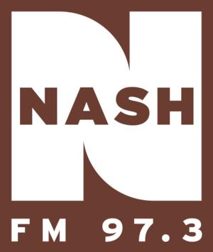 KHKI - Image: Nash FM 97.3 2013 logo