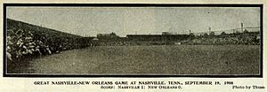 Carl Sitton - Image: Nashville Vols vs New Orleans Pelicans 9 19 1908