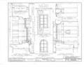 Nassau Hall, Nassau Street, Princeton, Mercer County, NJ HABS NJ,11-PRINT,4B- (sheet 14 of 25).png