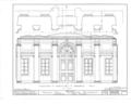 Nassau Hall, Nassau Street, Princeton, Mercer County, NJ HABS NJ,11-PRINT,4B- (sheet 18 of 25).png