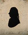 Nathaniel Hulme. Aquatint silhouette, 1801. Wellcome V0002916.jpg