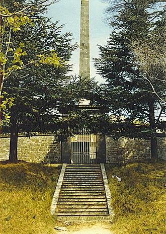 Seuil de Naurouze - Image: Naurouze Monument Riquet