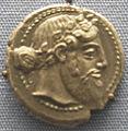 Naxos, moneta con dioniso, 460 ac. ca.JPG