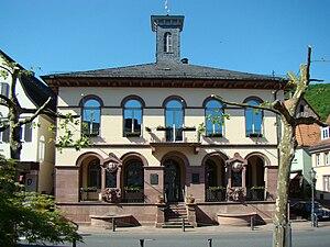 Neckarsteinach - Neckarsteinach Town Hall