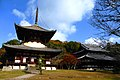 Negoro-ji, Daito (Pagoda) And Daidenpodo (Main Hall) -1 (December 2015) - panoramio.jpg