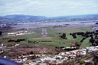 Nelson Airport (New Zealand) - Nelson Airport, 1977
