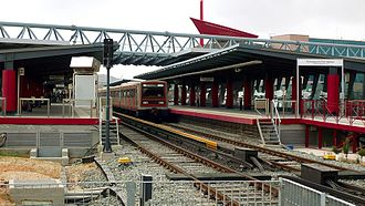 Marousi - Image: Neratziotissa Station at Maroussi