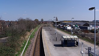 Netherfield railway station - Image: Netherfield railway station MMB 15