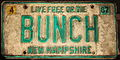 New Hampshire Licence Plate 1987 Bunch.JPG