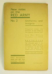 New Notes on the Red Army, 1944