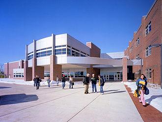 Saline, Michigan - Saline High School in nearby Pittsfield Charter Township