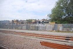 New sidings north of Horsforth Station (geograph 4199533).jpg