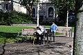 Newington Green, Old men - geograph.org.uk - 2102207.jpg